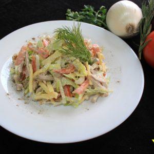 заказать салат с доставкой на дом